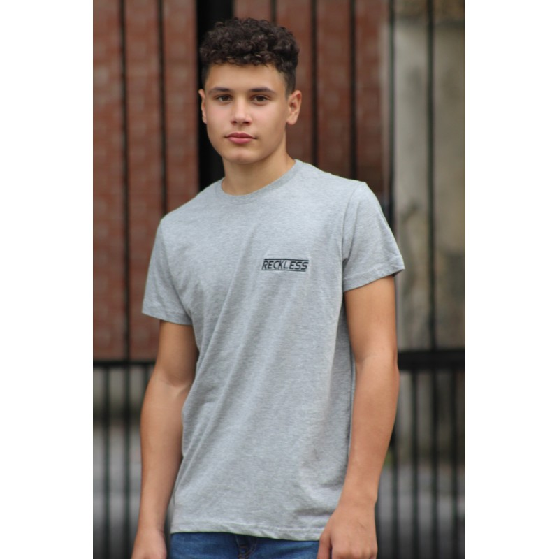 T-Shirt Small Reckless Gris