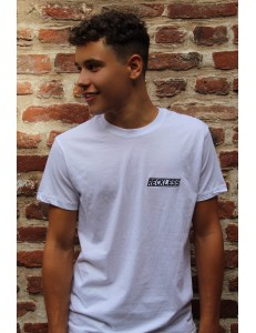 T-Shirt Small Reckless Blanc